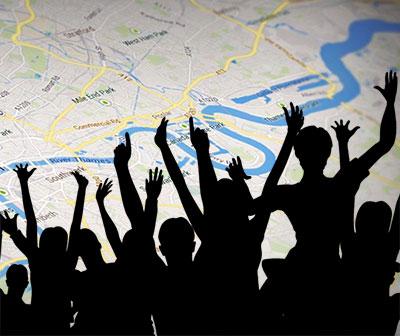 Google map rankings attracting more customers artwork